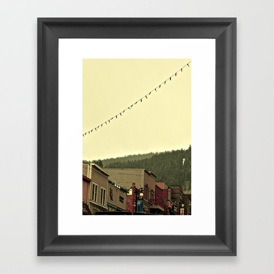 Stay for awhile Framed Art Print