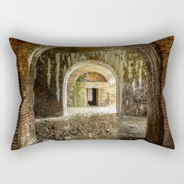 Through the Arches - Fort Morgan, AL Rectangular Pillow