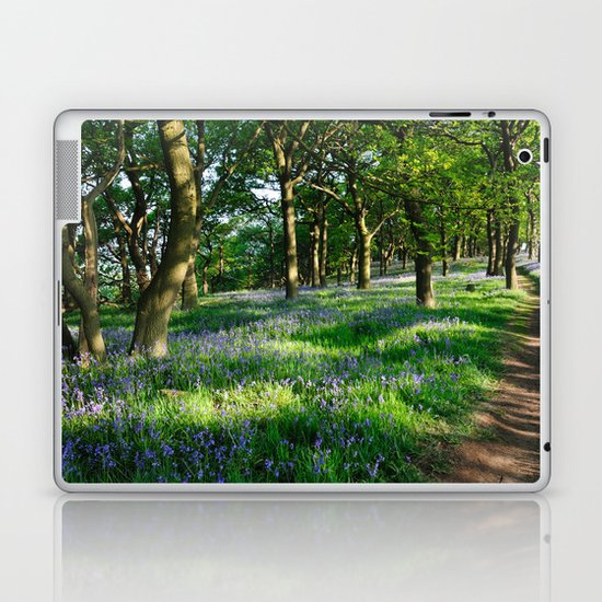 Bluebell Woods Laptop & iPad Skin