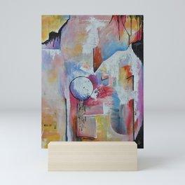Floating Sideways Mini Art Print