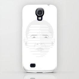 Horizontal line face By Aman Koua iPhone Case