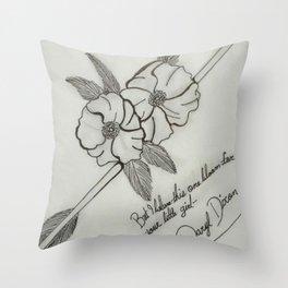 cherokee rose Throw Pillow