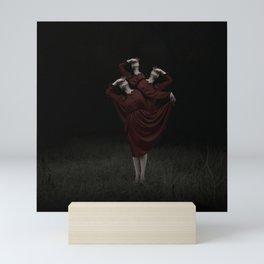 The Devil's On Your Shoulder Mini Art Print