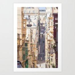 Saint Paul Street in Art Print
