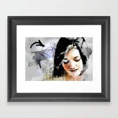 E.V. (Sketchbook) Framed Art Print