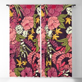 Jungle Pattern 001 Blackout Curtain