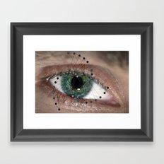 The Geometric Eye Framed Art Print
