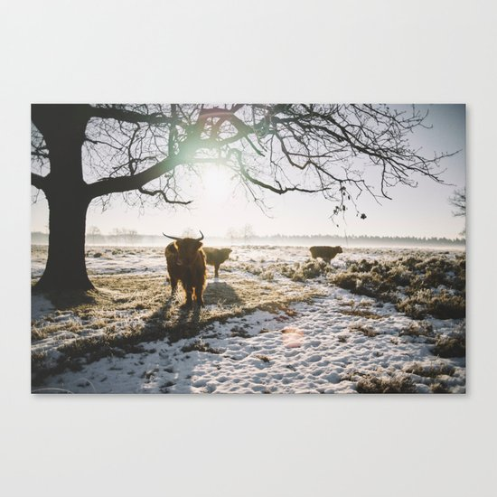 Simple wildlife Canvas Print