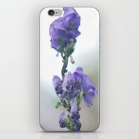 iris iPhone & iPod Skins featuring Iris by Bella Blue Photography