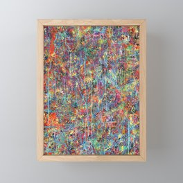 Acid Rain Framed Mini Art Print
