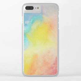 Flowing (water) Color Clear iPhone Case