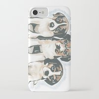 puppies iPhone & iPod Cases featuring Puppies 1 by JennFolds5 * Jennifer Delamar-Goss