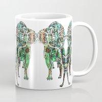 paradise Mugs featuring PARADISE by Lilikipi
