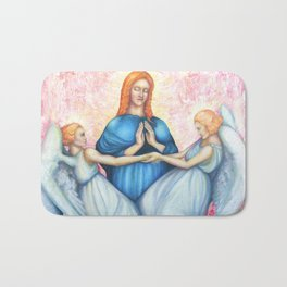 Magdalene, saint Mary Magdalene, Renaissance Bath Mat