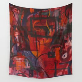 Rocket Boots Wall Tapestry