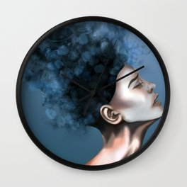 """OCD: """"Intrusive Thoughts"""" Wall Clock"""