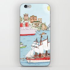 The Harbor iPhone & iPod Skin