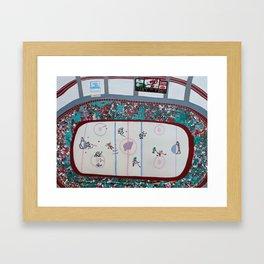 Empty Netter Framed Art Print