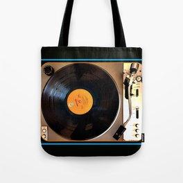 Vintage Pioneer Turntable Tote Bag