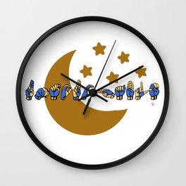 UNTOUCHABLE Wall Clock
