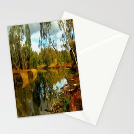 Dusk over a Swamp Stationery Cards
