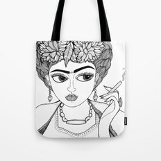 Ode to Frida Tote Bag