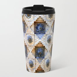 Wood Door Texture Travel Mug