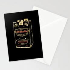 Old Time Car Oil Can  Stationery Cards