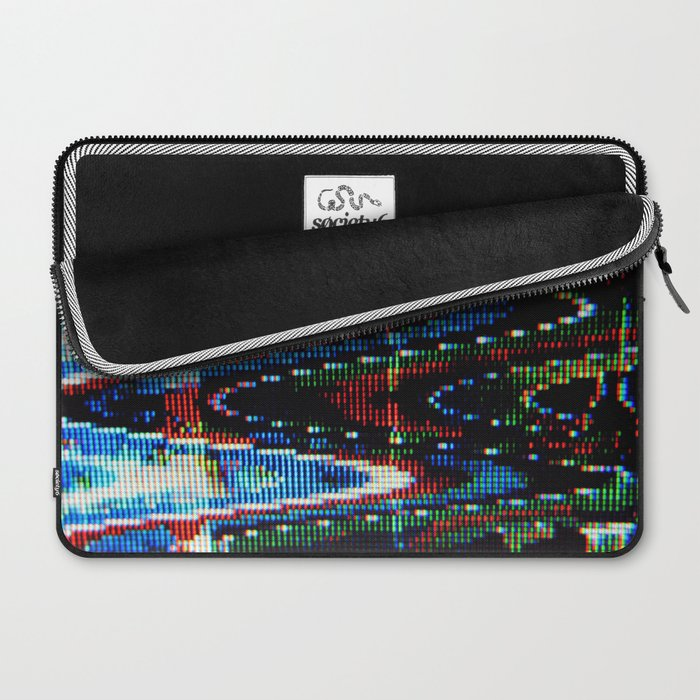 VHS-STYLE DISTORTION Laptop Sleeve