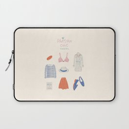 Parisian Chic: Starter Pack Laptop Sleeve
