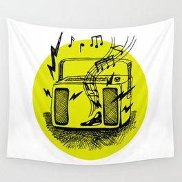 Noisy Radio Wall Tapestry