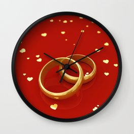 Marriage Wall Clock