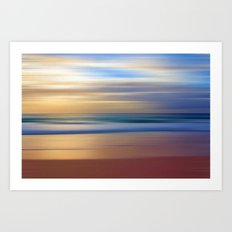 MARINE MAGIC Art Print