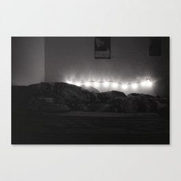 Bedroom Lights Canvas Print