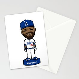 """THE VICTRS """"The Bison"""" Bobble Toon Stationery Cards"""