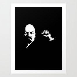 98 - Lenin…from Kerala! Art Print