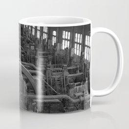 Bethlehem Steel, Blowing Engine House- black and white Coffee Mug
