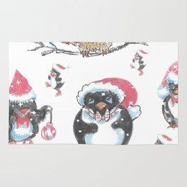 """""""Penguin Party"""" Rug"""