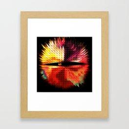 The Eye Beholds: Two Framed Art Print