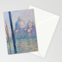 Le Grand Canal by Claude Monet Stationery Cards