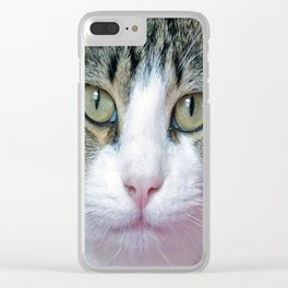 Pink Nose Clear iPhone Case
