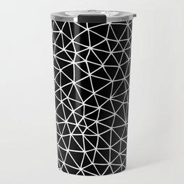Connectivity - White on Black Travel Mug