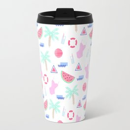 Mosaic summer 01 Travel Mug