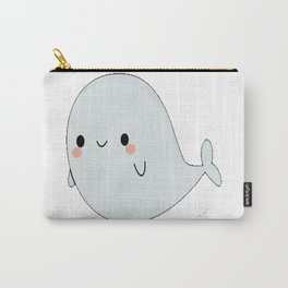 Cute Whale Pun Carry-All Pouch