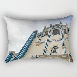 La Capilla Maria Auxiliadora Gothic Style Catholic Church, Granada, Nicaragua Rectangular Pillow