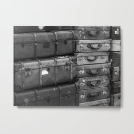 Travelling. Metal Print