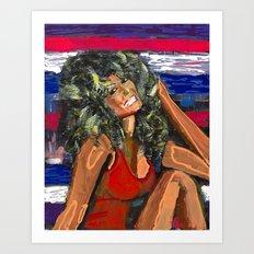 Farrah Art Print