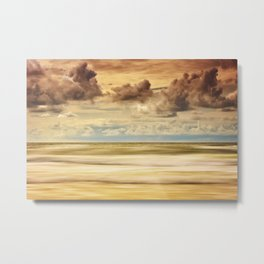 Stormy North Sea Metal Print