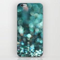 MERMAID GLITTER EMERALD iPhone & iPod Skin