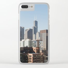 City View Clear iPhone Case
